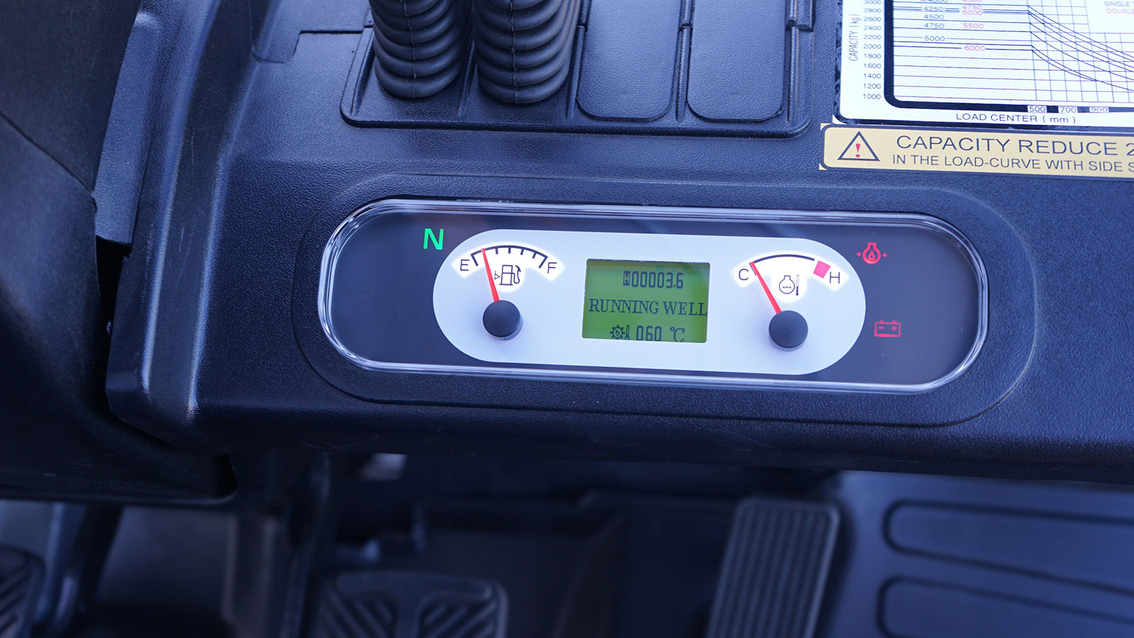 đồng hồ xe nâng dầu mga forklift 4.0 tấn