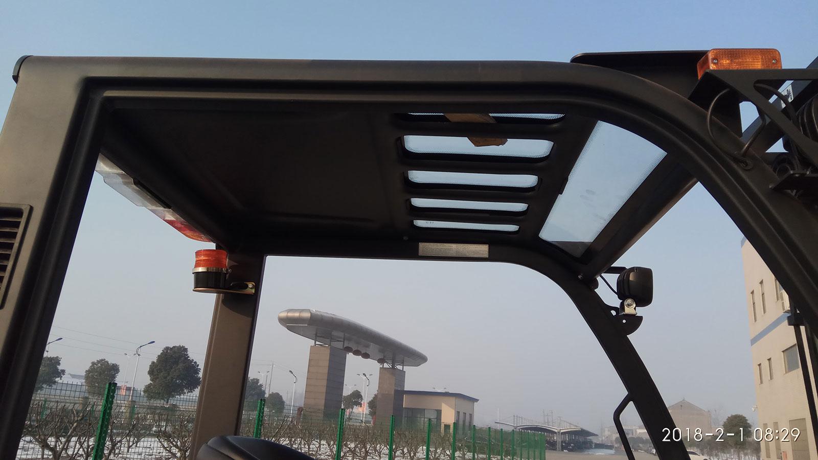 khung xe nâng dầu mga forklift 4.5 tấn