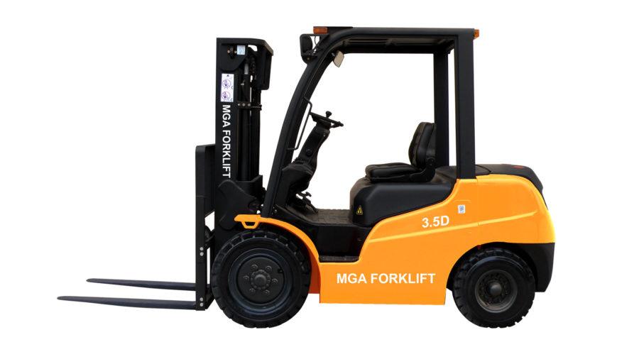 Xe nâng dầu mga forklift 3.5 tấn