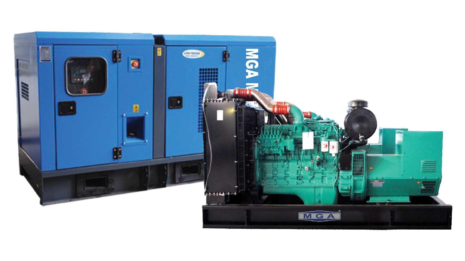 máy phát điện MGA 33 kva