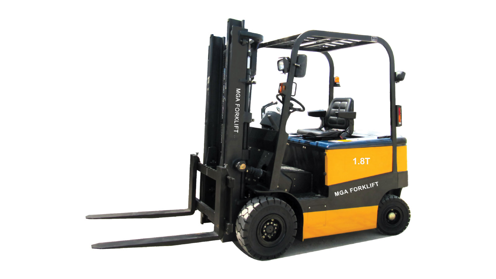 xe nâng điện mga forklift 1.8 tấn